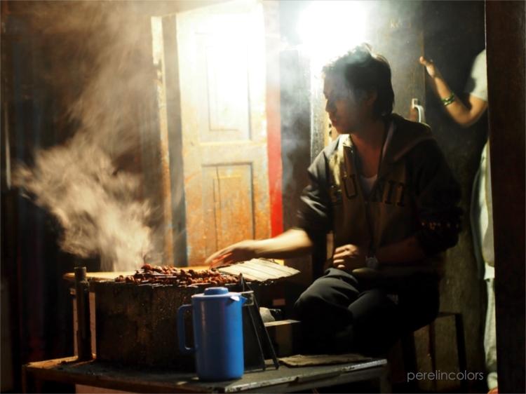 Foodstall in Kathmandu