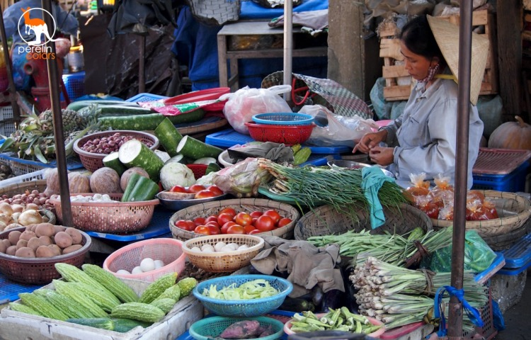 A market in Hoi An