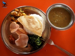 The best Dal Baat we had in Nepal - @ Machhaupuchhare Basecamp