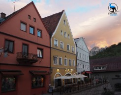 The charming city center of Füssen