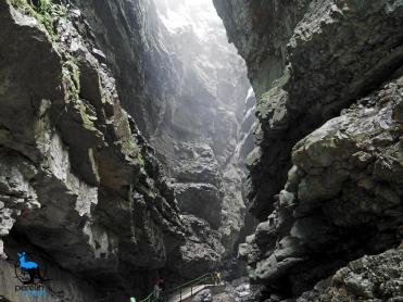 Inside the gorge I