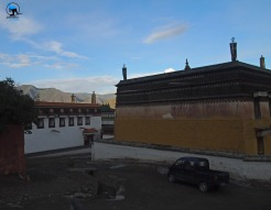 Labrang monastery in the late afternoon