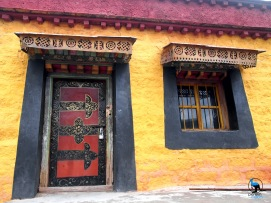 Tibetan Buddhism is very colorful