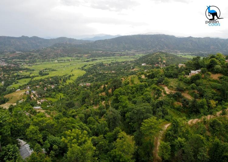 View of the Kathmandu Valley
