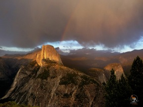 The signature landmark of Yosemite National Park.