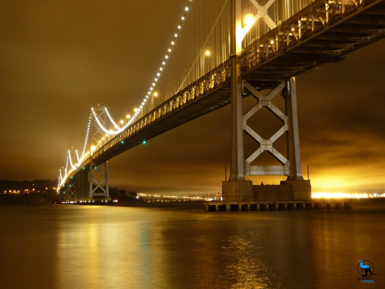 Sometimes, it pays out to look beyond the most popular. I don't like my pictures of the Golden Gate Bridge half as much as my take on the Bay Bridge.