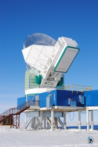 The South Pole Telescope - Nikon D3000, 38mm, f10, 1/400