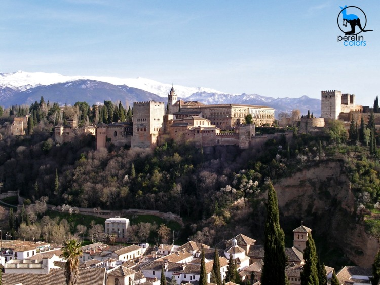 The quintessential view of Granada.