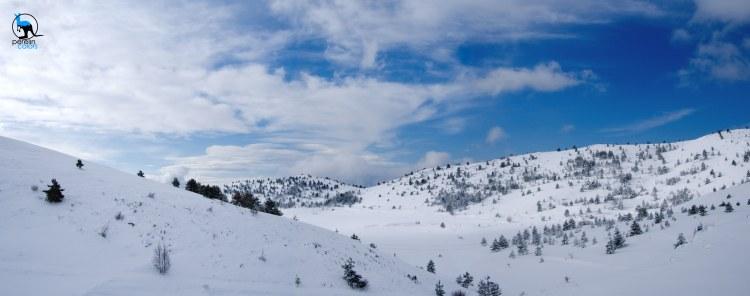 Snow in Abruzzo, Panorama