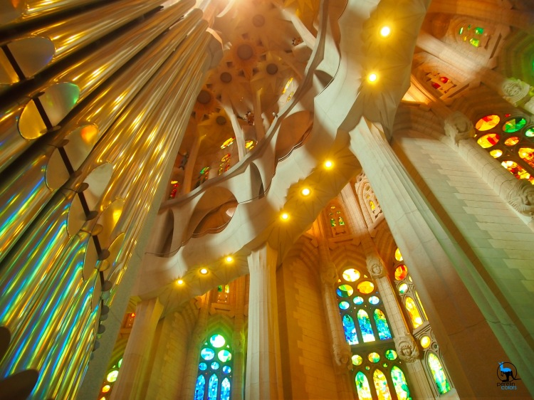 My favorite shot from our visit to the Sagrada Familia in Barcelona is, in fact, a HDR composition. (Olympus Pen with M.Zuiko 14-42mm)
