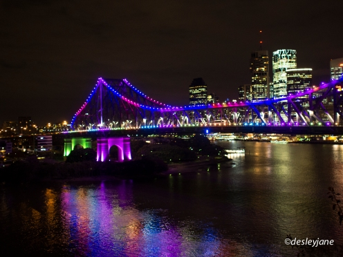 Story Bridge Lights.