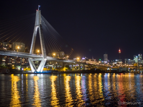 ANZAC Bridge.