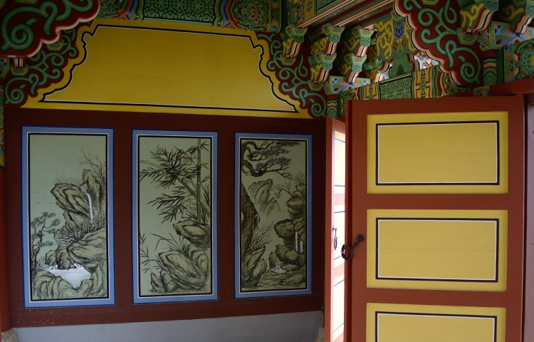 Decoration at Beomeosa temple