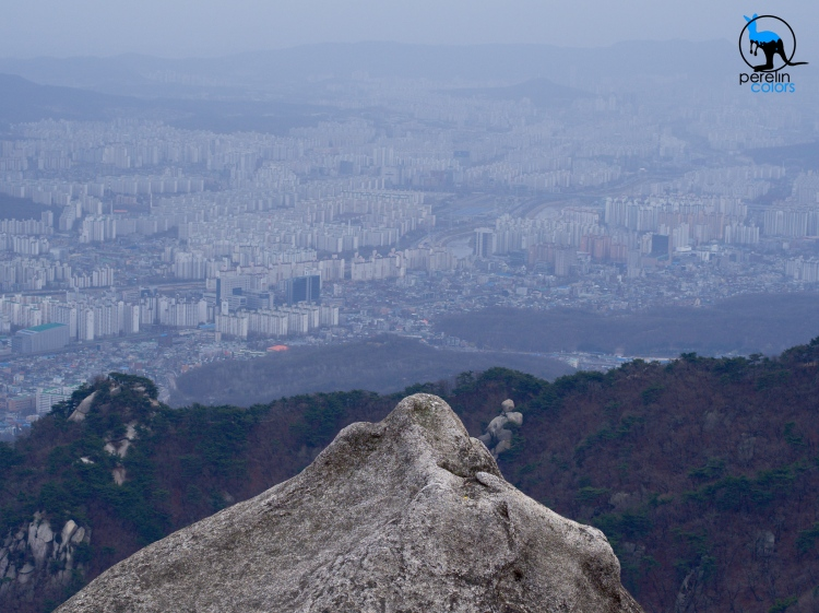 Outskirts of Seoul. How the hell did we get up here?