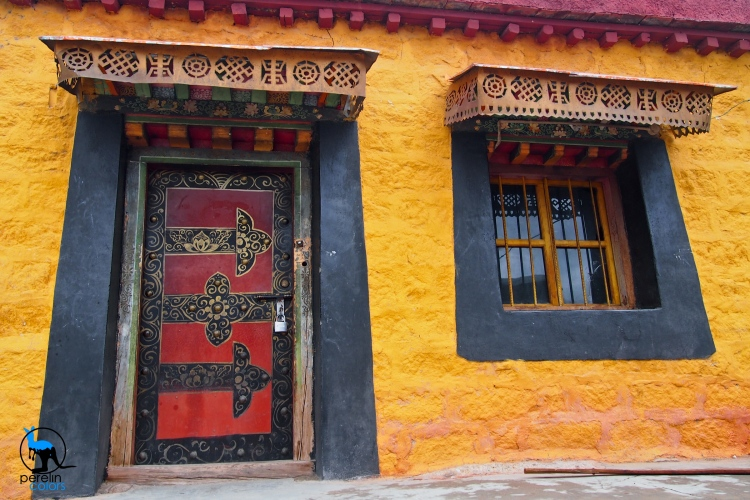 Yellow in Tibet