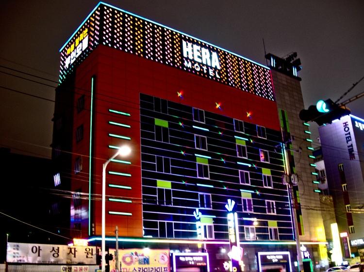 Hera Motel in Daegu, Korea