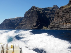 On the way back to Los Gigantes